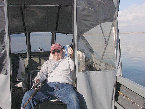 Last sturgeon trip of 2009