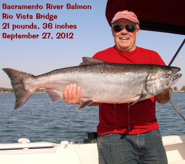2012-9-27c Lb 36 inch salmon RV Bridge cap