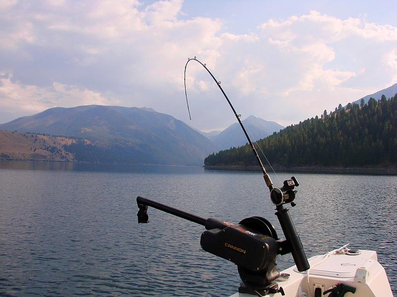 Sept '11: Oregon's World-Record Kokanee Lake: Wallowa Lake