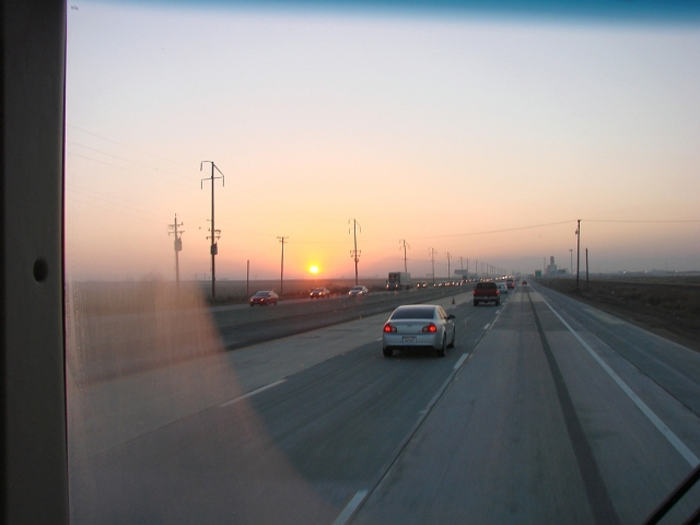2014-1-14a sunrise on SR58