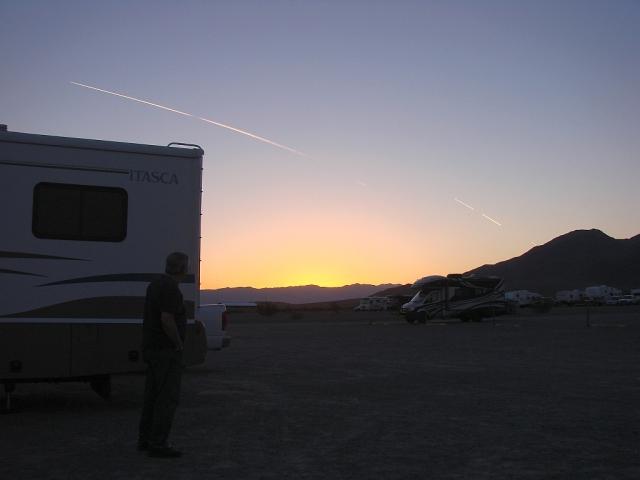 2014-2-21a sunrise on the desert floor, actually 40' below sea level