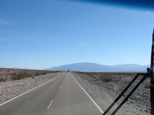2014-2-21u long pull out of the valley to Beatty, NV