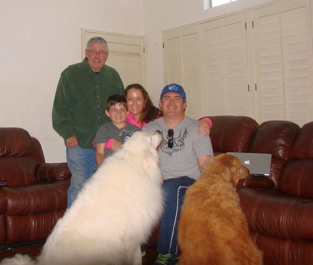 2014-4-5c the Gillespie clan and Grandpa