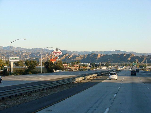 2014-4-6b LALA Land behind me early Sunday morning