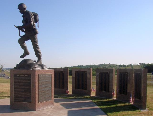 2014-5-15c Texas WWII monument.2