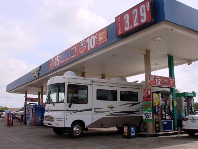 2014-5-20f gas at $3.30 in Paris, TX I'll take it