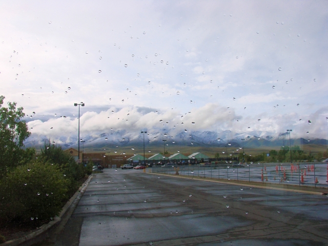 2014-5-6a rainy night and morn Winnemucca