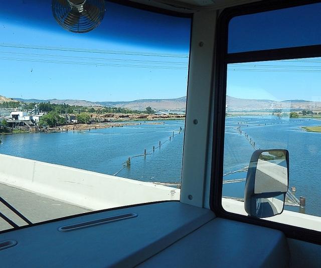 2014-7-7q Klamath River entering K Falls