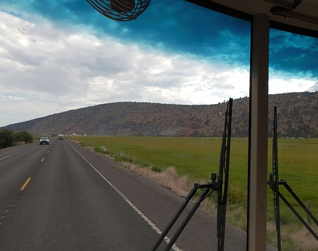 2014-7-8a north on US97 above K Falls