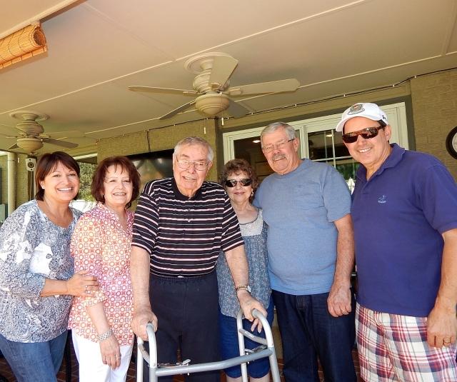 2014-8-30i Nancy, Norma, Seff, Lavonne, Dale, Allen