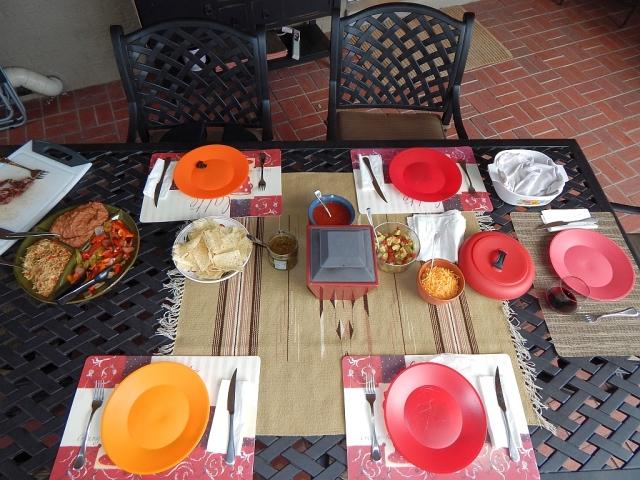 2014-8-31j dinner spread