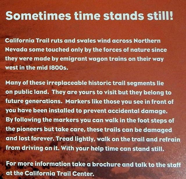 2014-9-4 Trail plaque