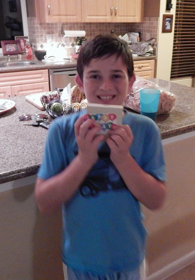 2014-11-15J Aidan and birthday gift card