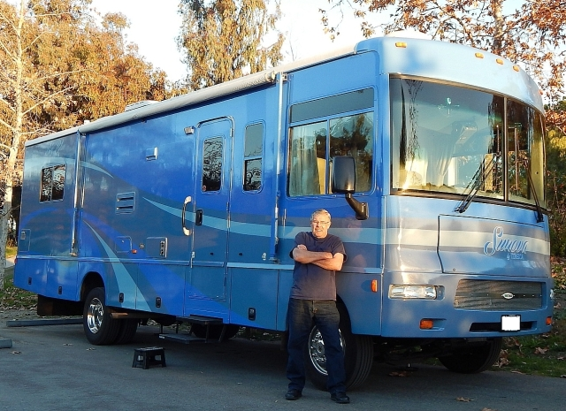 2015-1-24a2 me 'n Big Blue at Guajome