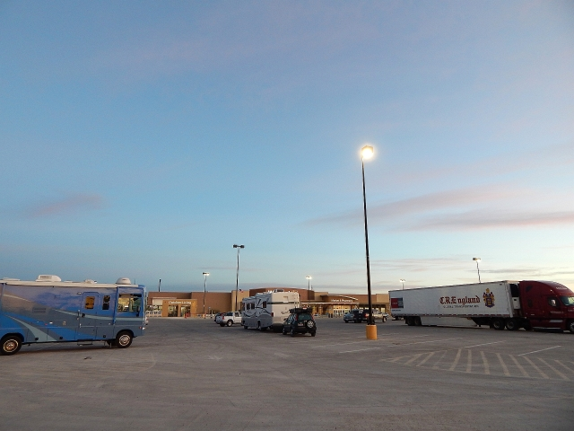 2015-1-29a Walmart at Ft Stockton, TX