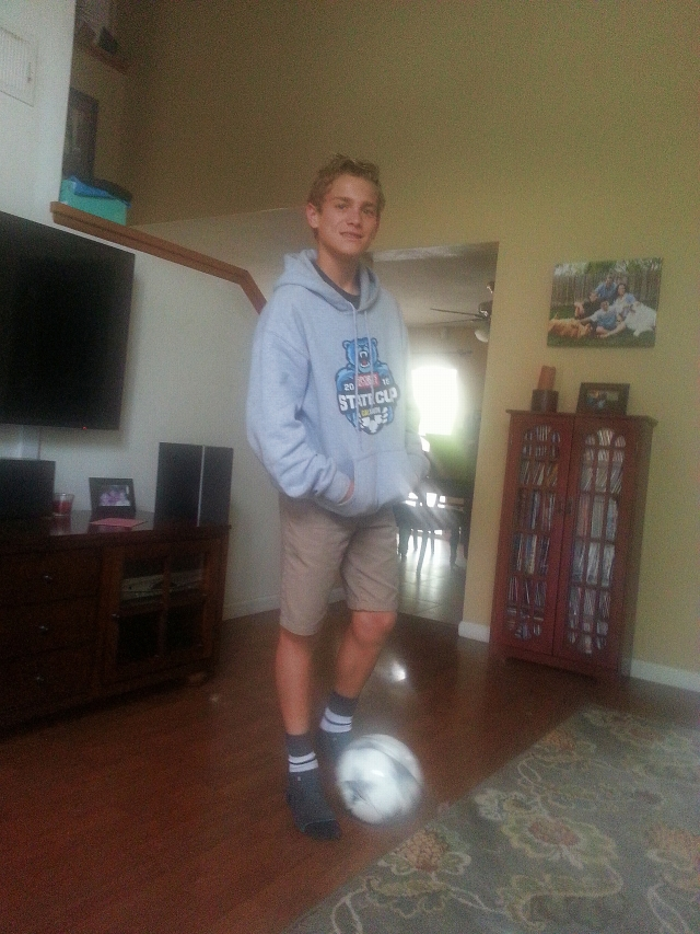2015-4-24h Connor at home ready for soccer