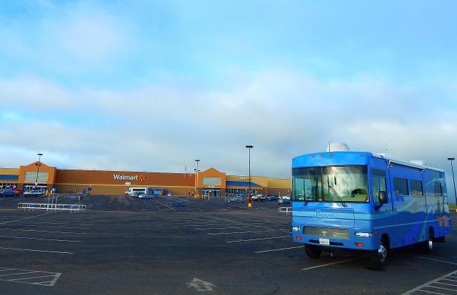 2015-6-12a Morning at Laramie Walmart