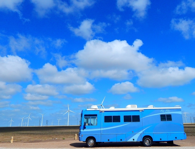 2015-6-16c Big Blue at roadside info area