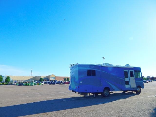 2015-6-17o jacks down at Sioux City IA Walmart