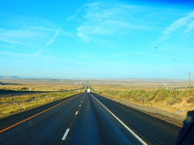 2015-9-28b open NM I-40 highway ahead