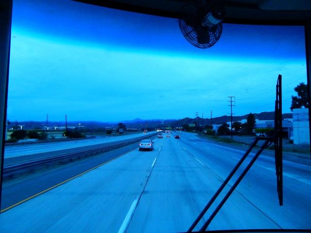 2015-10-25a Nearly Santa Clarita before daylight