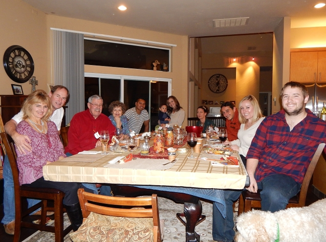 2015-11-26 Thanksgiving at The Castle