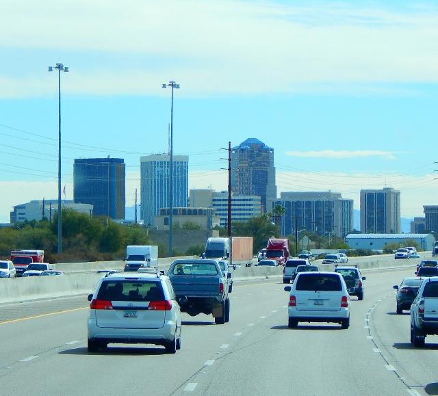 2016-1-25f smooth drive through Tucson