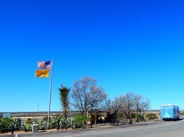 2016-1-26c Rest Area Las Cruces