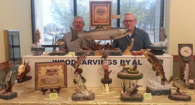2016-4-2a Al, Dale carving show