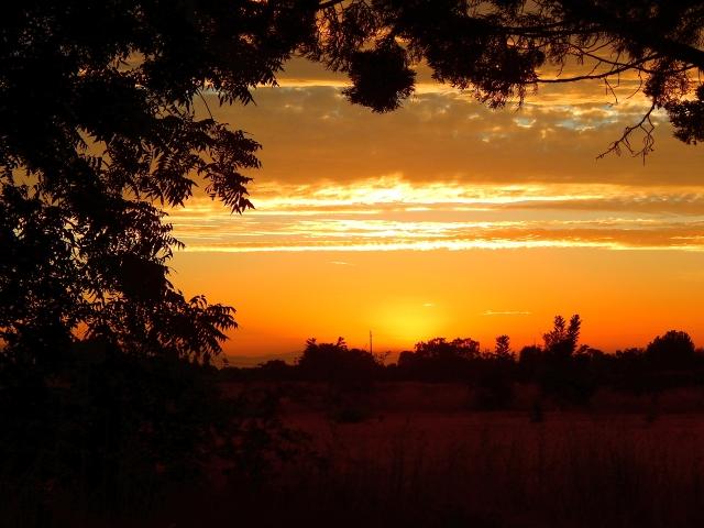 2016-8-29h Gridley sunset