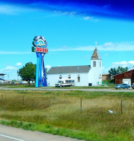 A church converted into a casino? It sure looks like it - is nothing sacred?!