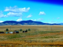 Without irrigation Montana was almost as dry as Wyoming.