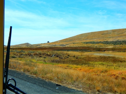 With few exceptions, this pretty well sums up the entire drive down US395 from Ritzville to the Columbia River.