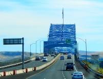 The bridge across the Columbia River.