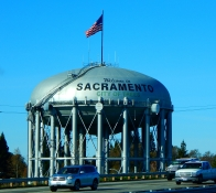 Sacramento was a bit breezy - and cold!