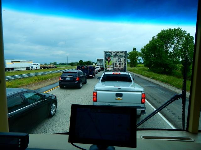 2017-4-12c 45 minute traffic jam