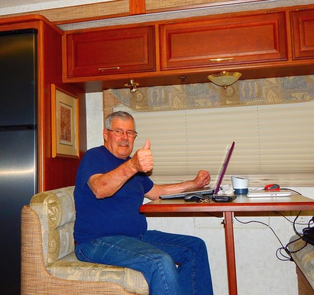 2017-4-12g Happy Camper finally back aboard!