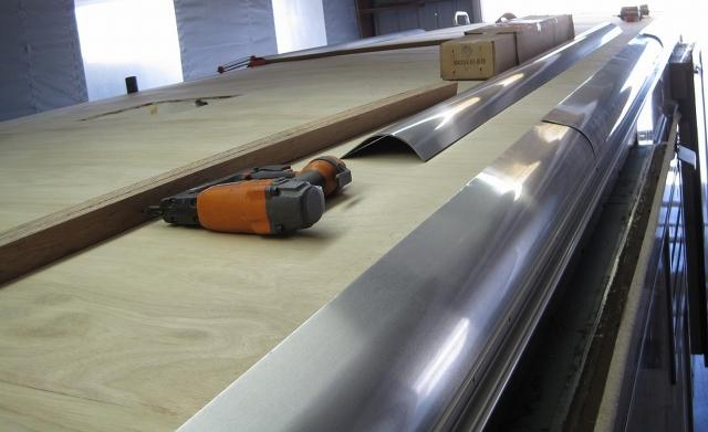 2017-4c Metal radials being installed