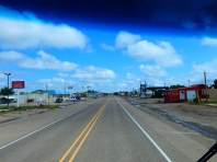 One of many small towns I drove through on US54.