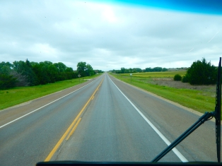An entire day of driving beautiful Kansas highways.