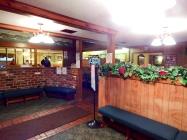 Inside Chicken Mary's restaurant.
