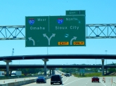I had a big decision to make; I-80 home in a hurry or I-29 north for more adventure?!