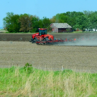 Farming in Iowa.