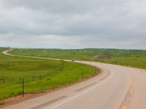 US212 was long and green.