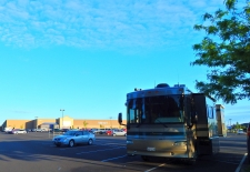 Morning at Kennewick's Walmart store.