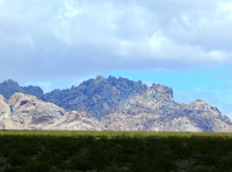 Beautiful and rugged mountain of rocks that I had to stop and photograph. Gorgeous!