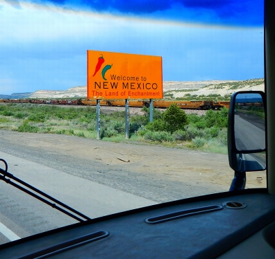 New Mexico always extends a splashy welcome!