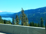 Donner Lake on a gorgeous day.