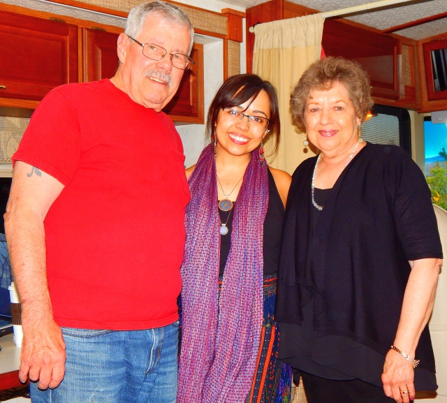 2017-6-14u Erica visits