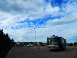 Jacks down at Cheyenne, Wyoming's Walmart.
